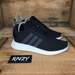 NEW Adidas NMD R2 Black Gum